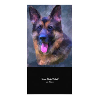 German Shepherd Dog Collectible Photo Card