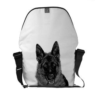 German Shepherd dog Commuter Bag
