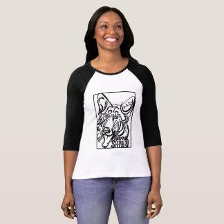 German Shepherd Dog Doodle T-Shirt