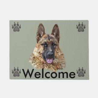 German Shepherd Dog Doormat