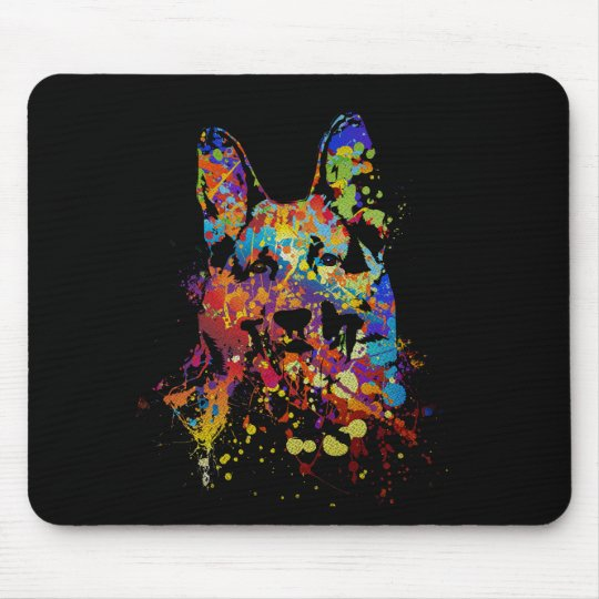German Shepherd Dog -GSD Mouse Pad