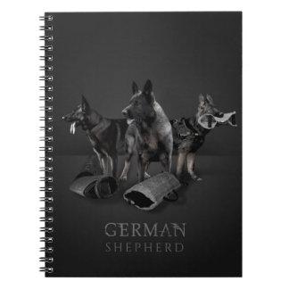 German Shepherd Dog  - GSD Notebook