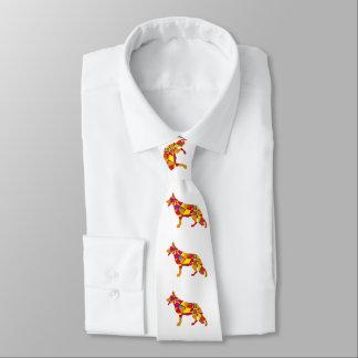 German Shepherd Dog Jewels Tie