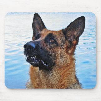 German Shepherd -  Dog mouspad Mouse Pad
