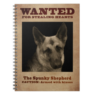German Shepherd Dog Notebook