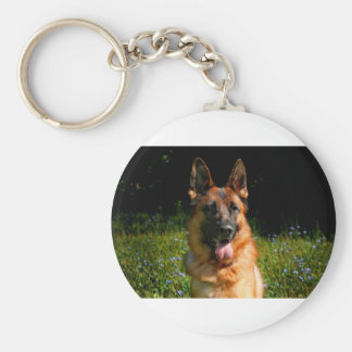 German Shepherd Dog Pet Keychain
