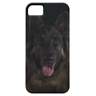 German shepherd dog portrait/alsatian iPhone 5 cover