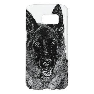 German Shepherd dog Samsung Galaxy S7 Case