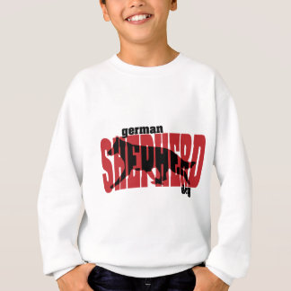 German Shepherd Dog silhouette Sweatshirt