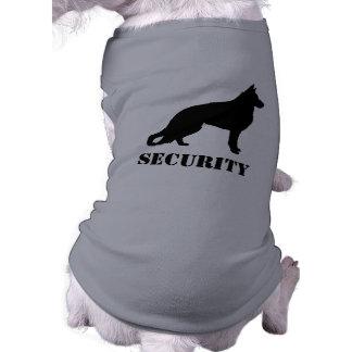 German Shepherd Dog Silhouette with Text Shirt