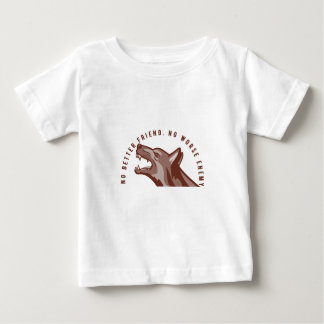German Shepherd Dog Text Baby T-Shirt