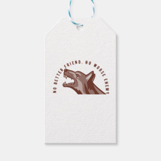 German Shepherd Dog Text Gift Tags
