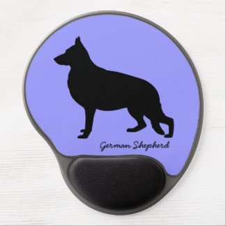 German Shepherd Gel Mouse Mat