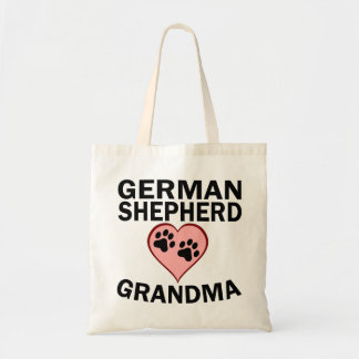 German Shepherd Grandma Tote Bag