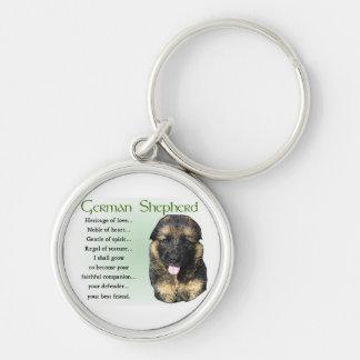 German Shepherd Heritage of Love Keychain