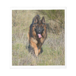 german-shepherd-in motion notepad