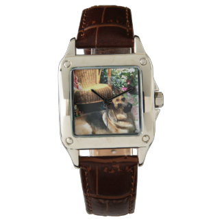 German Shepherd Love Gifts Wrist Watch