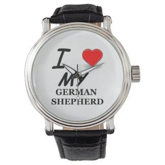 german shepherd love watch