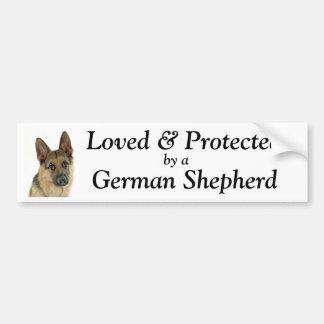 German Shepherd Lover's Delight Bumper Sticker