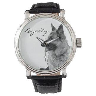 German Shepherd Loyalty Watch