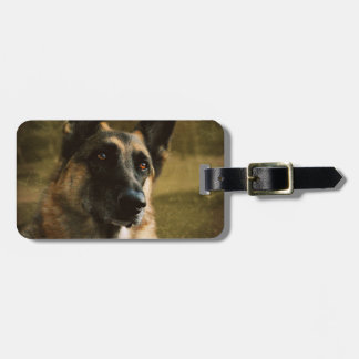 German Shepherd Luggage Tags