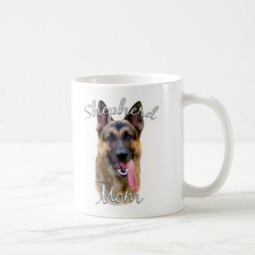 German Shepherd Mom 2 Coffee Mug