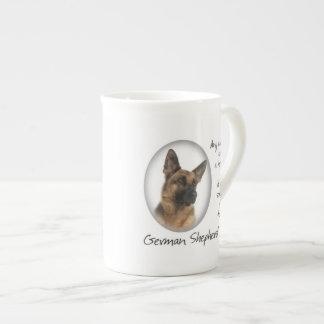 German Shepherd Mom Bone China Mug