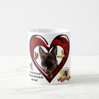 German Shepherd Mom Coffee Mug