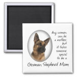 German Shepherd Mom Magnet Refrigerator Magnet