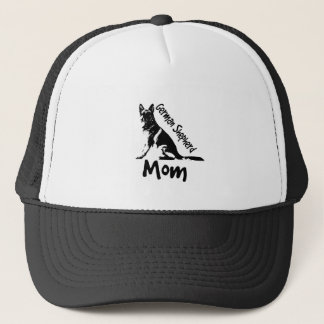 German Shepherd Mom Trucker Hat
