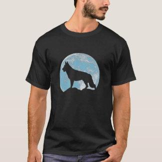 German Shepherd  Moon T-Shirt