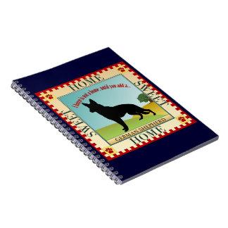 German Shepherd Note Books