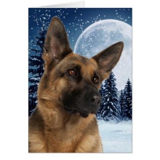 German Shepherd Note Card
