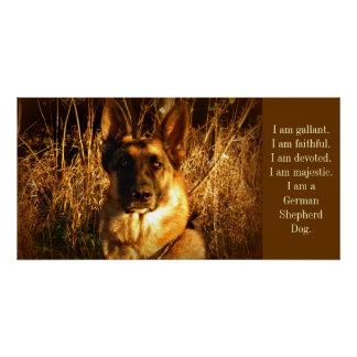 German Shepherd Perfect Poster