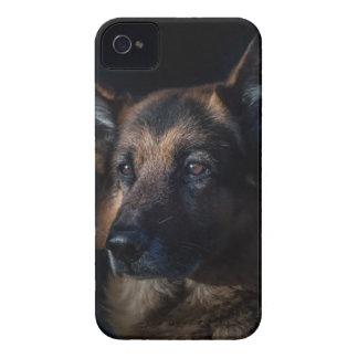 German Shepherd Pet iPhone 4 Case-Mate Cases