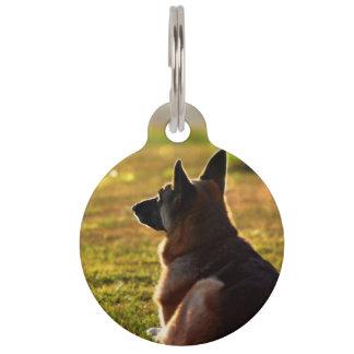 German Shepherd Pet Loss Memorial Pet Tags
