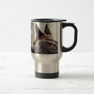 German Shepherd Photo Stainless Steel Travel Mug