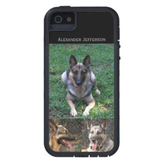 German Shepherd: Picture Collage iPhone 5 Cover