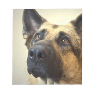 German Shepherd Picture  Notepad