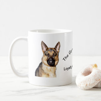 German Shepherd Portraits on of Coffee Mug