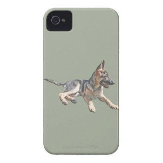 German Shepherd pup iPhone 4 Cover