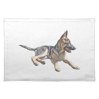 German Shepherd pup Placemat
