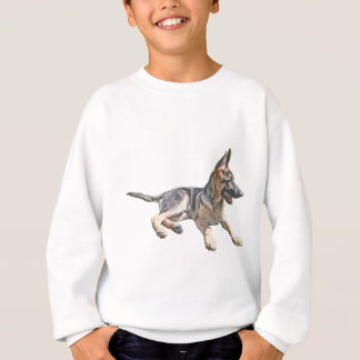 German Shepherd pup Sweatshirt