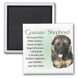 German Shepherd Puppy Gifts Magnet