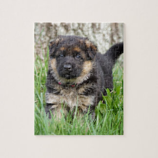 German Shepherd Puppy Jigsaw Puzzle