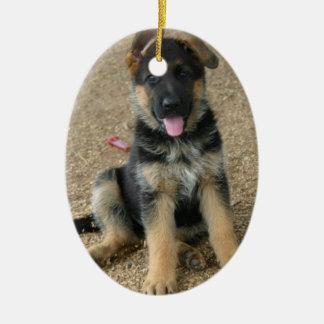 German Shepherd Puppy Ornament