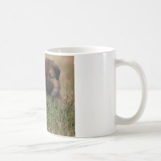 "German Shepherd Puppy ""The Lookout"" Coffee Mug"
