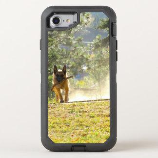 German Shepherd Running iPhone 7 Case