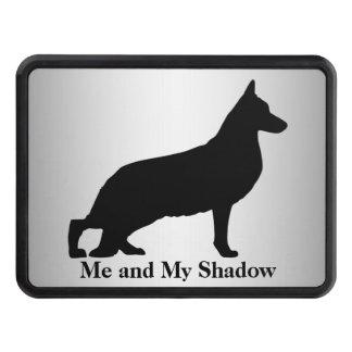 German Shepherd Silhouette Trailer Hitch Cover