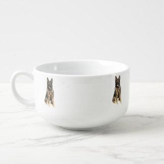 German Shepherd Soup Mug